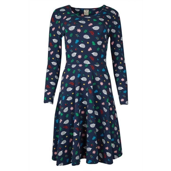 Frugi Schwangerschafts Kleid im Igel Design 46 Hedgehogs_AW20_4