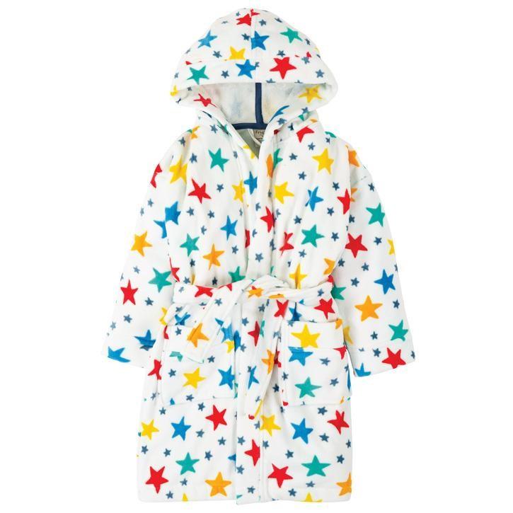 Frugi Toasty Towelling Kleid  Multi Star