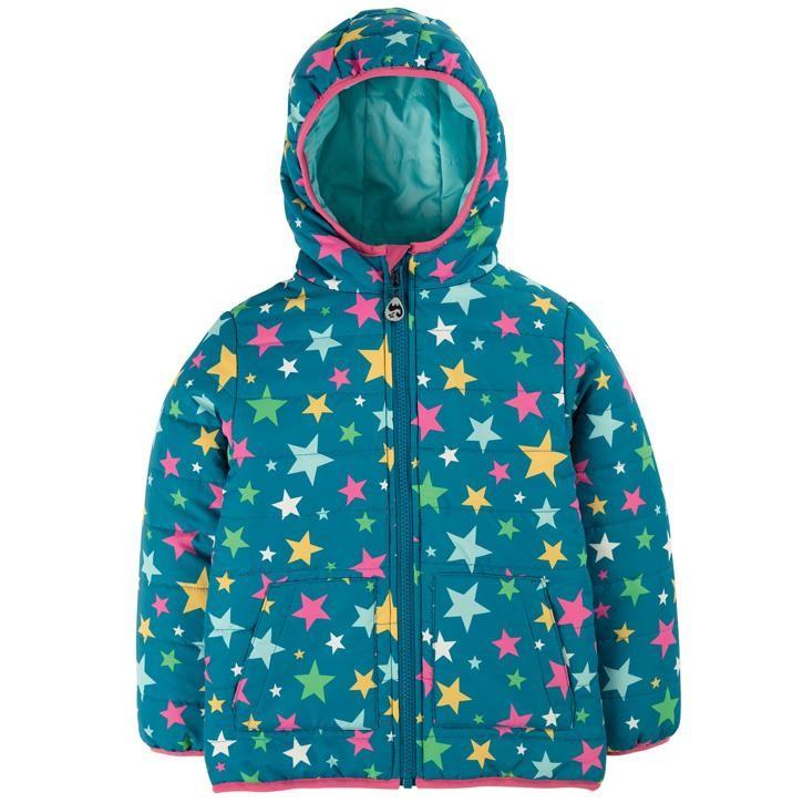 Frugi Wendbare Sternen Jacke Rainbow Stars_AW20