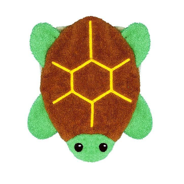Fürnis BIO Landschildkröte Louis groß Kinderwaschlappen