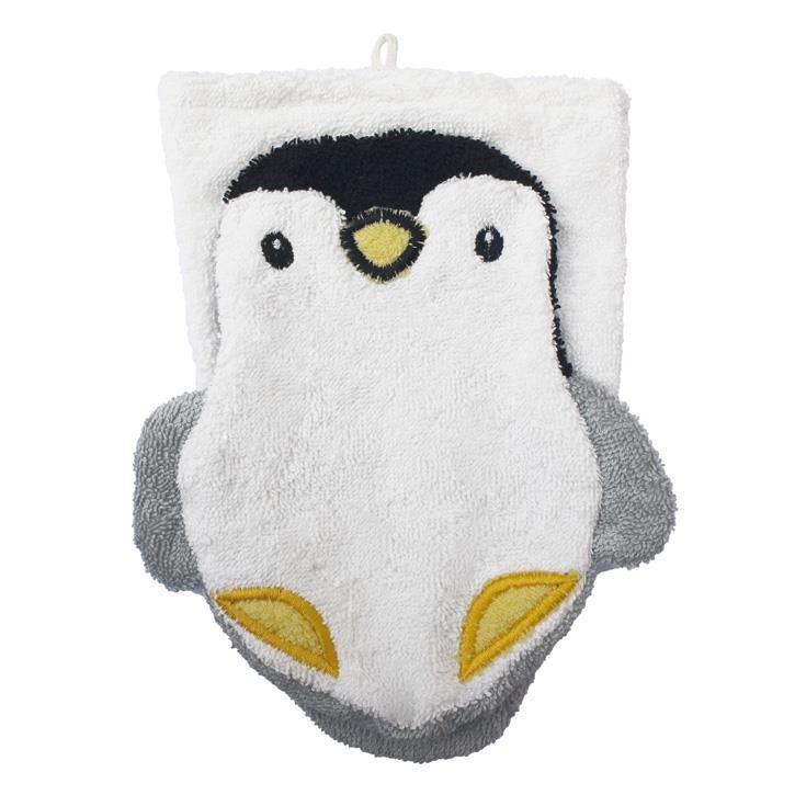 Fürnis BIO Waschlappen Pinguin
