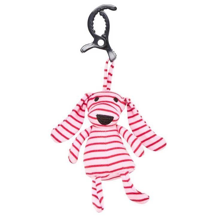 Geggamoja Kinderwagenanhänger Doddi Pink/Red