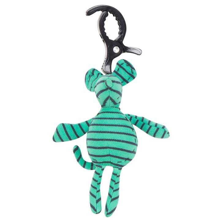 Geggamoja Kinderwagenanhänger Mouse Green/marine