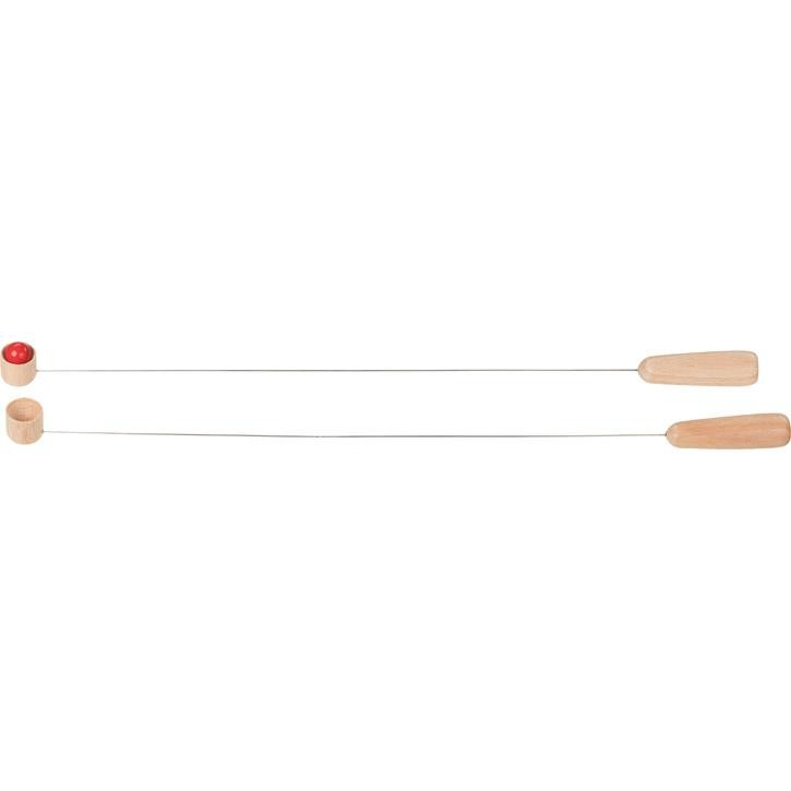 Goki Balancierspiel Wippels (inklusive 2 Holzkugeln) 56796 4+ Holz, Metall
