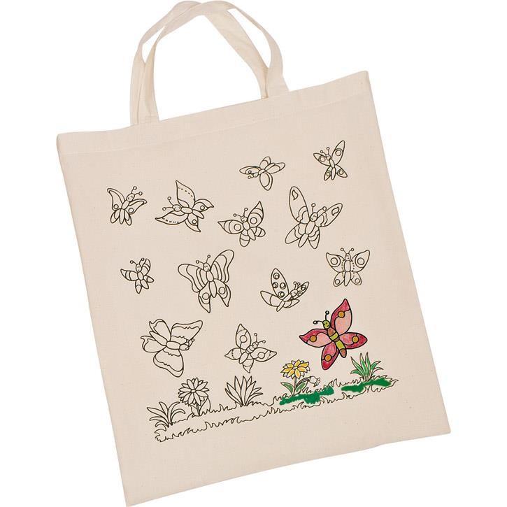 Goki Baumwollbeutel Schmetterlinge 58987 3+ Textil