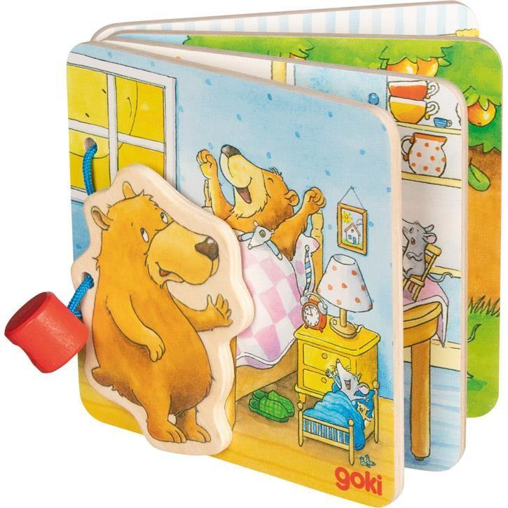 Goki Bilderbuch Der kleine Bär 58722 1+ Holz