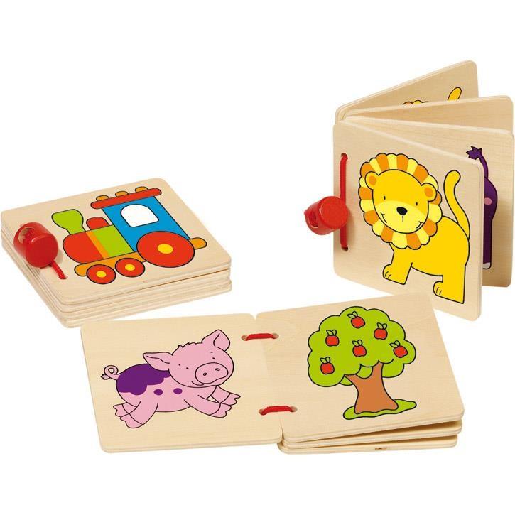 Goki Bilderbuch Ente, 59983 1+ Holz