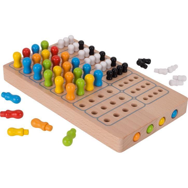 Goki Brettspiel Master Logic, goki basic. 56708 7+ Holz