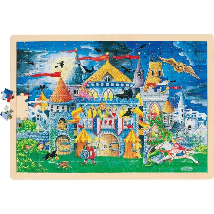 Goki Einlegepuzzle Märchenstunde 57949 4+ Holz
