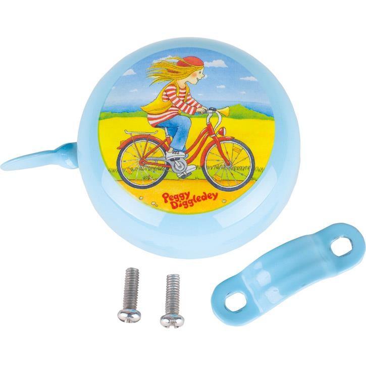Goki Fahrradklingel, Peggy Diggledey 63903 0+ Metall