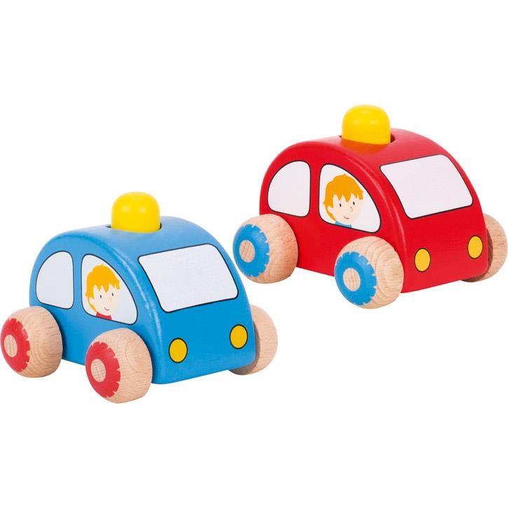Goki Fahrzeuge mit Hupe 55016 1+ Holz