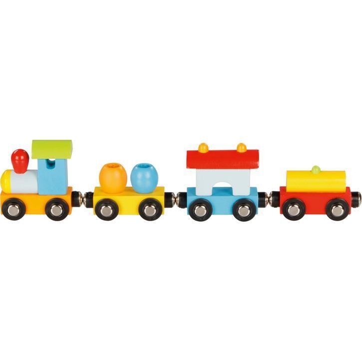 Goki Fahrzeuge, Zug Mailand, mit Magnetkupplung 55864 2+ Holz