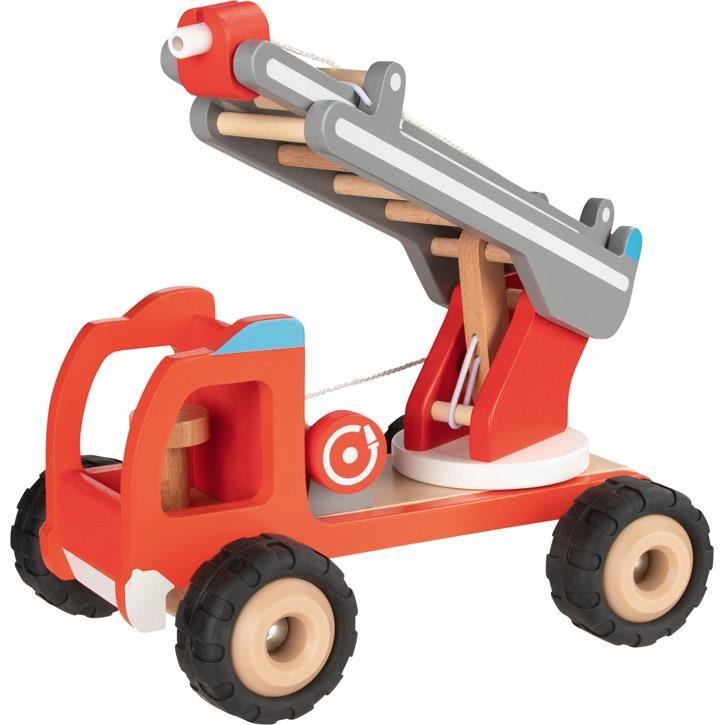 Goki Feuerwehr Leiterwagen 55877 3+ Holz