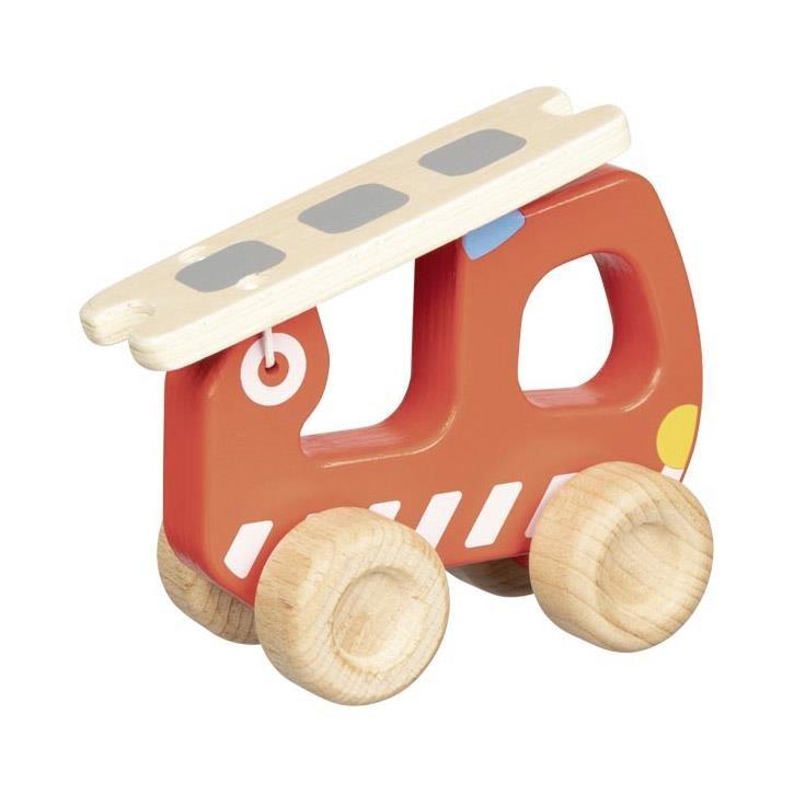 Goki Feuerwehr Leiterwagen 55880 2+ Holz