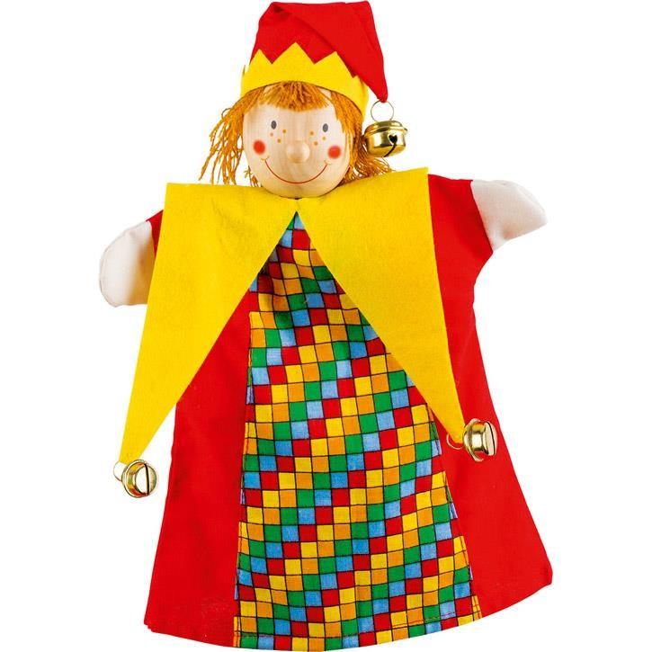 Goki Handpuppe Kasper 51650 4+ Holz, Textil