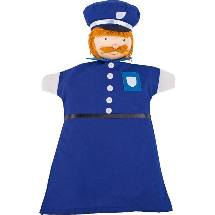Goki Handpuppe Polizist 51646 4+ Holz, Textil