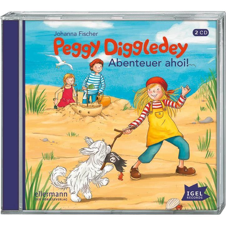 Goki Hörbuch Peggy Diggledey - Abenteuer Ahoi! 61899 0+ Kunststoff