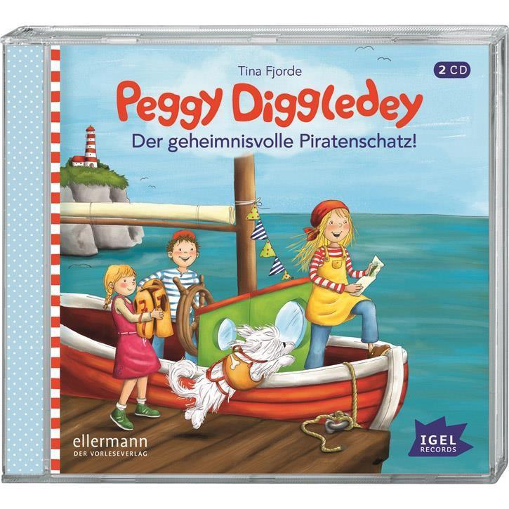 Goki Hörbuch Peggy Diggledey - Der geheimnisvolle Piratenschatz 61886 0+ Kunststoff