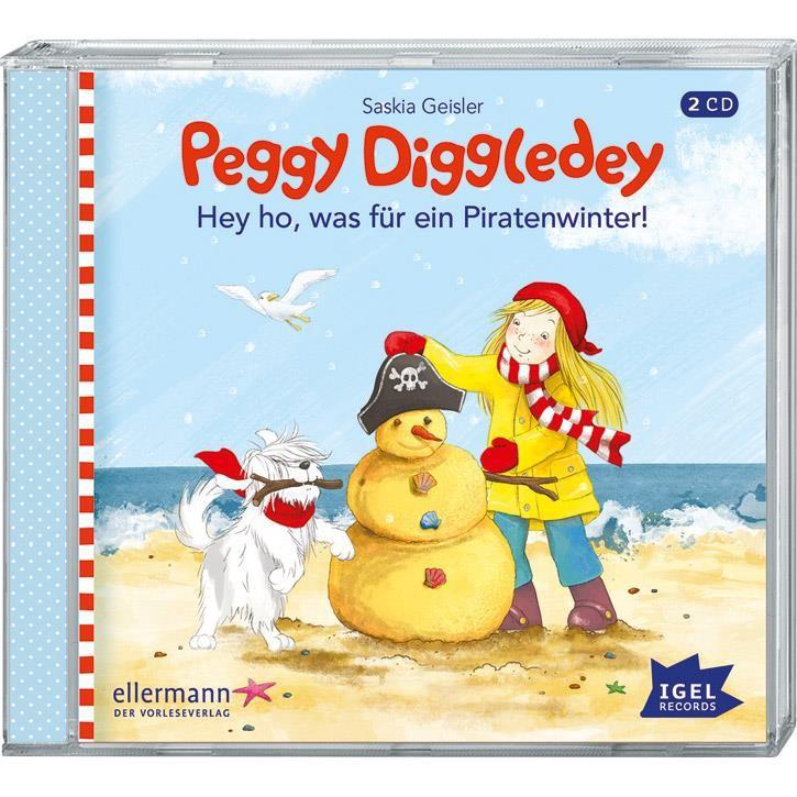 Goki Hörbuch Peggy Diggledey - Hey ho, was für ein 61897 0+ Kunststoff