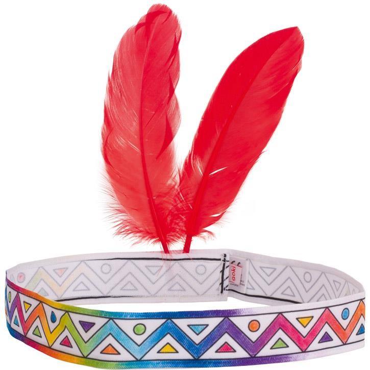 Goki Indianerstirnband zum Anmalen 58640 3+ Textil