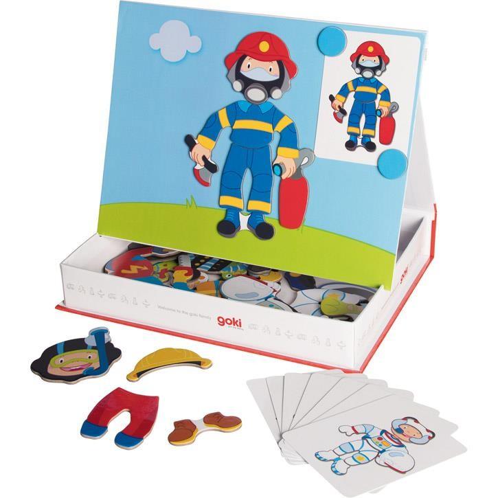 Goki Magnetspiel Verkleiden Junge 58741 3+ Pappe