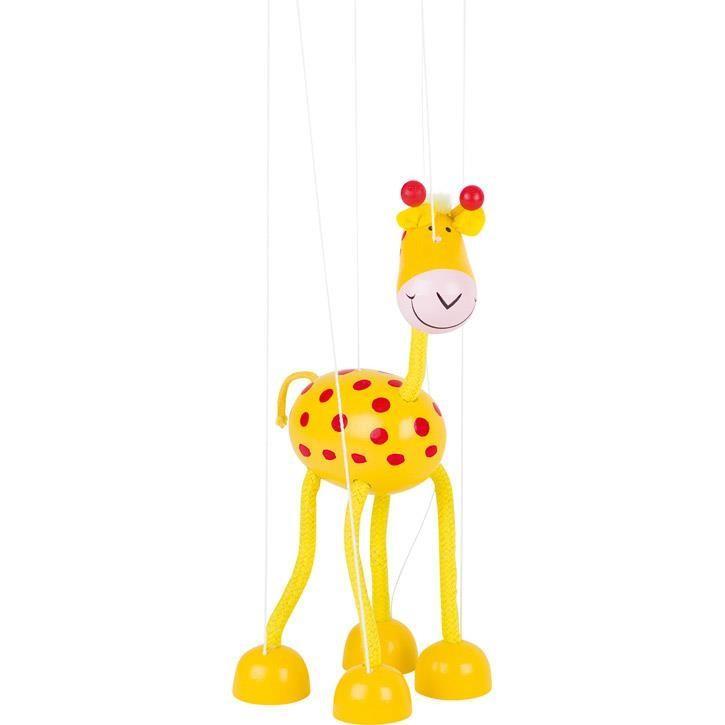 Goki Marionette Giraffe 51867 3+ Holz