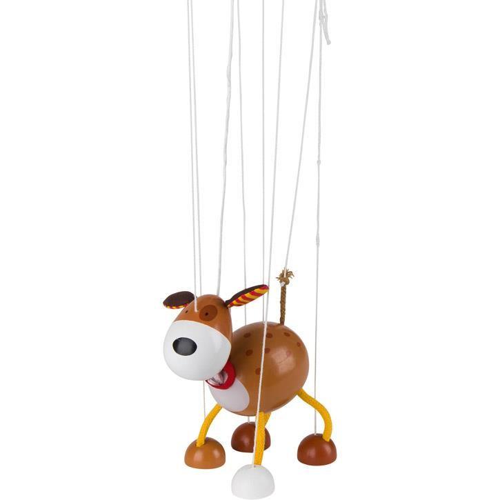 Goki Marionette Hund 51755 3+ Holz, Textil