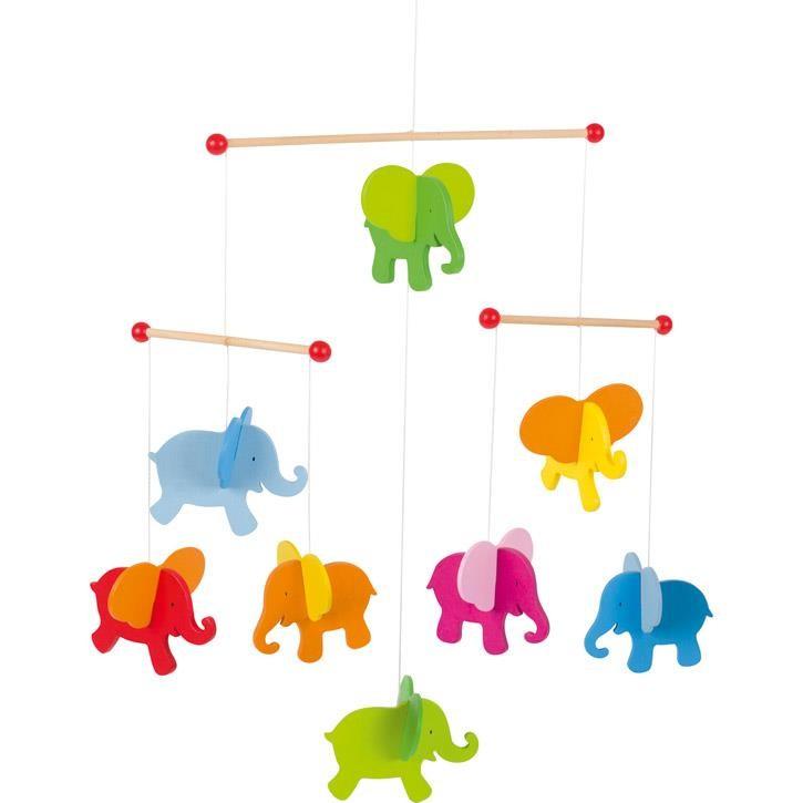 Goki Mobile Elefanten 52904 0+ Holz