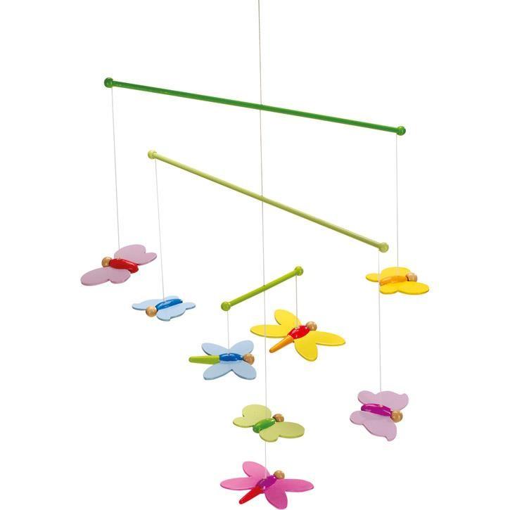 Goki Mobile Schmetterlinge 52964 0+ Holz