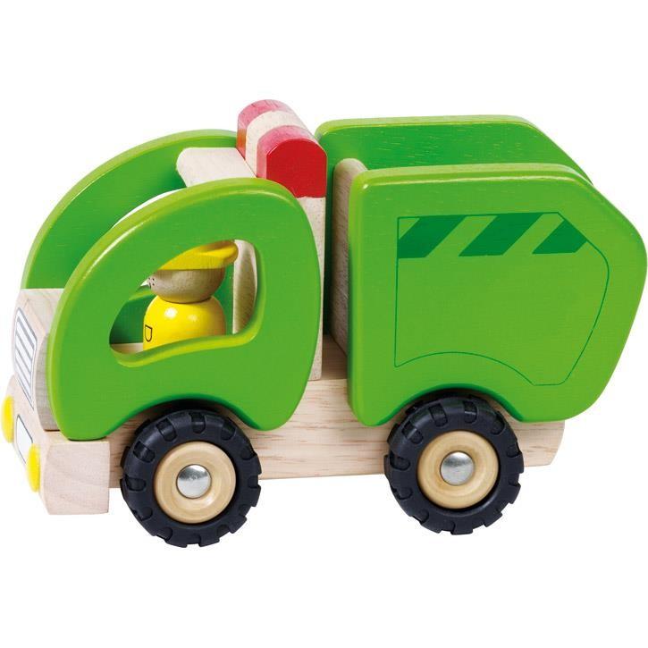 Goki Müllwagen 55964 2+ Holz