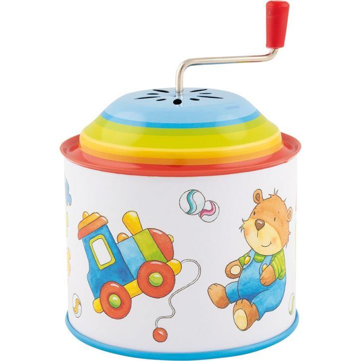 Goki Musikspieldose, Spielzeug, Melodie: Toy Symphony 60723 1+ Metall