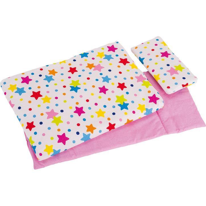 Goki Puppenbettzeug Regenbogen 51518 3+ Textil