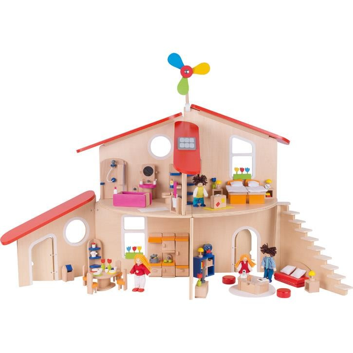 Goki Puppenhaus Modern Living 51737 3+ Holz