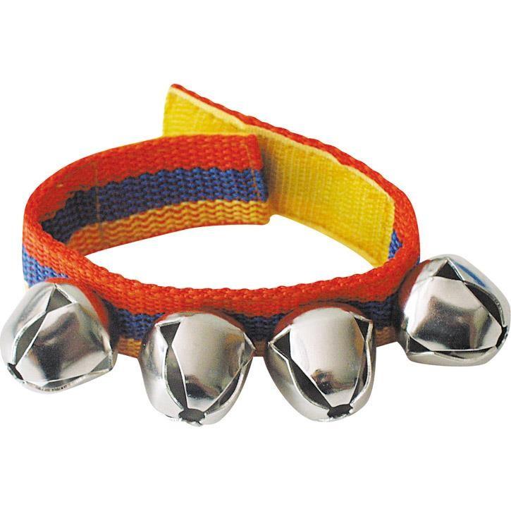 Goki Schellenband für Arme und Beine mit 4 Glocken 61996 3+
