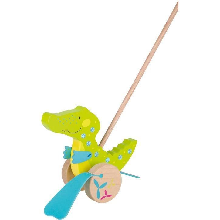 Goki Schiebetier Krokodil, Susibelle 54911 1+ Holz