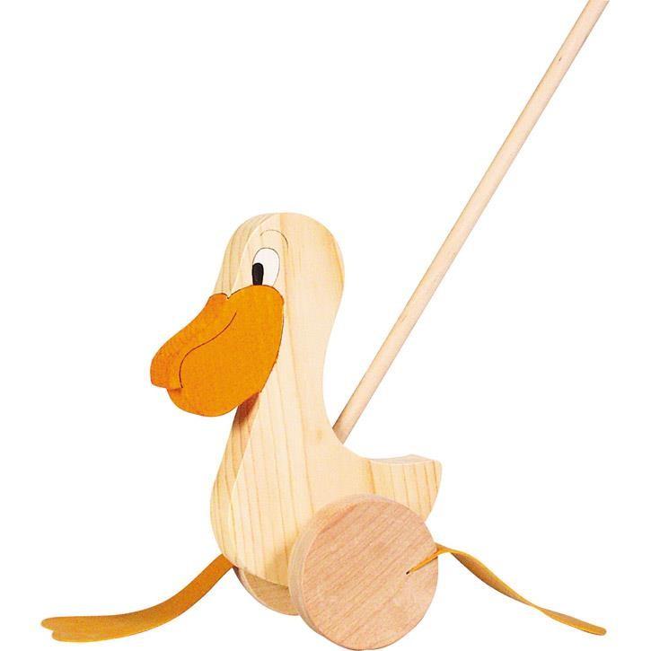 Goki Schiebetier Pelikan WP006 1+ Holz