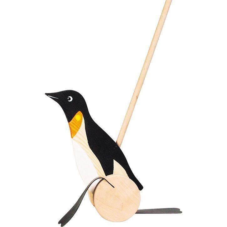 Goki Schiebetier Pinguin WP005 1+ Holz