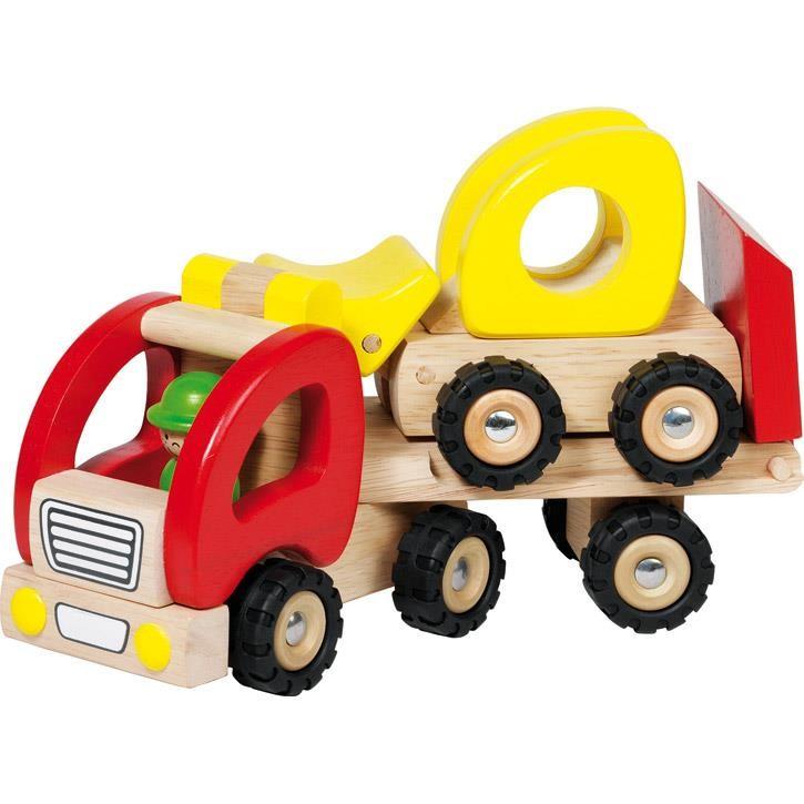 Goki Tieflader 55963 3+ Holz