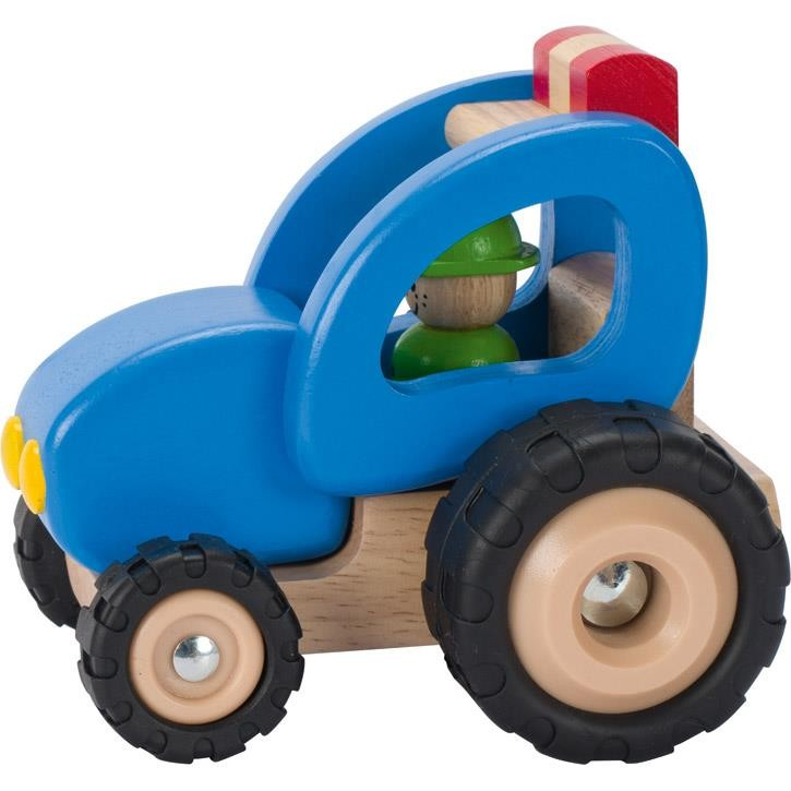 Goki Traktor 55928 2+ Holz