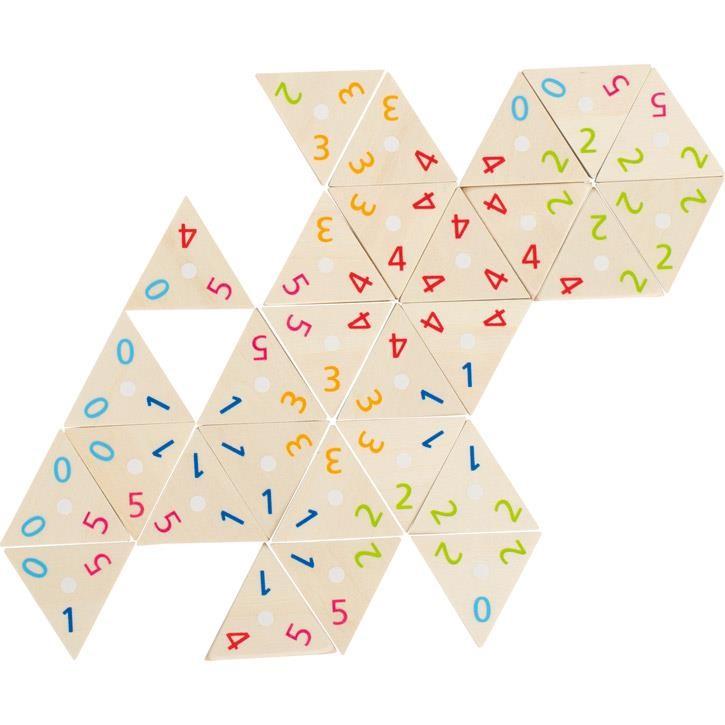 Goki Tri-Domino 56894 5+ Holz