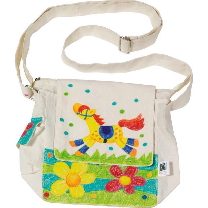 Goki Umhängetasche, Fair Trade 58611 3+ Textil
