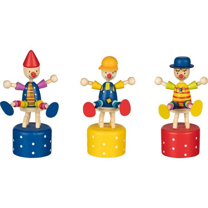 Goki Wackelfigur Die Pepones, gelb gepunktet,1 Stück