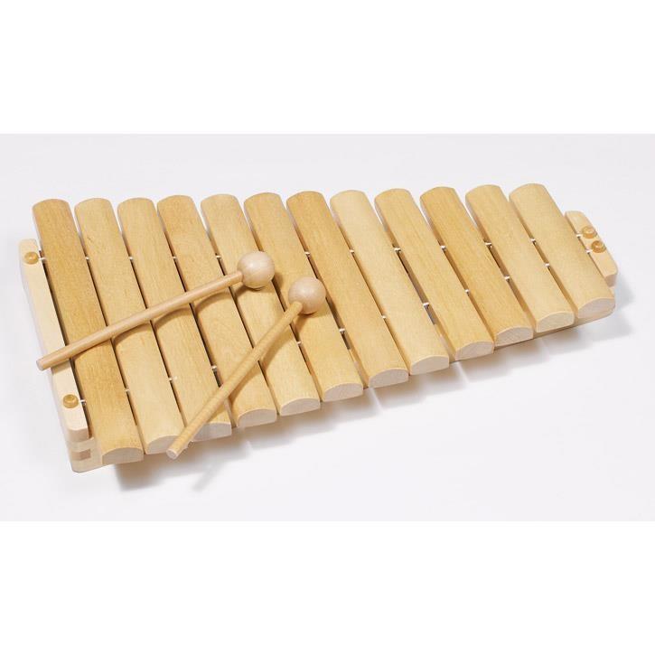 Goki Xylophon mit 12 Tönen 61969 3+ Holz