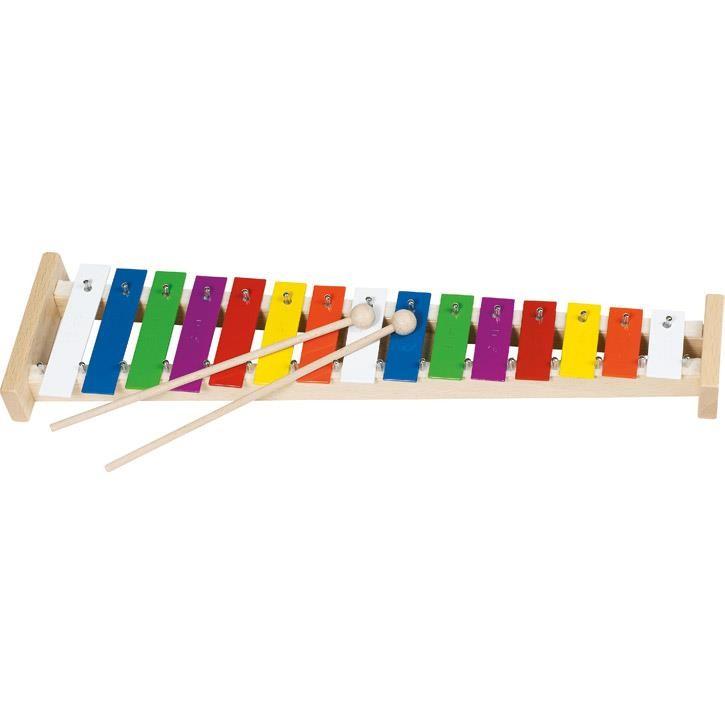 Goki Xylophon mit 15 Tönen 61998 3+ Holz, Metall