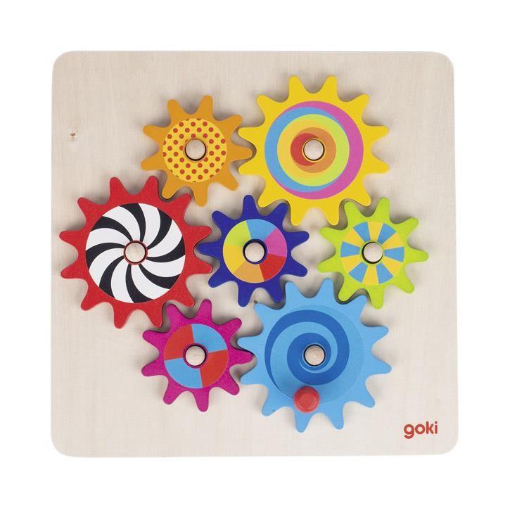 Goki Zahnradspiel 58530 3+ Holz