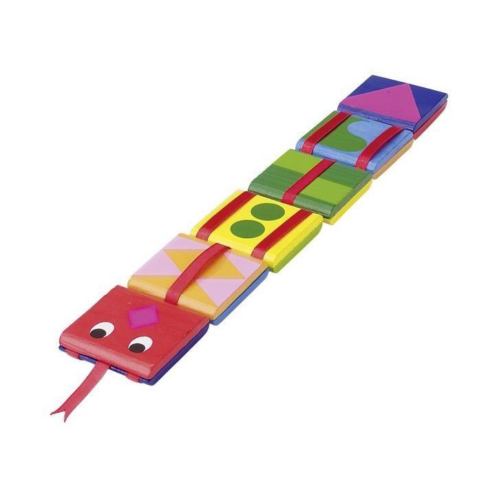 Goki Zauberklapperschlange 62983 4+ Holz, Textil