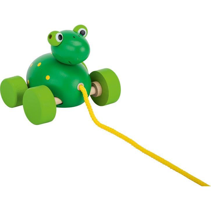 Goki Ziehtier Frosch Frodoh 54991 1+ Holz