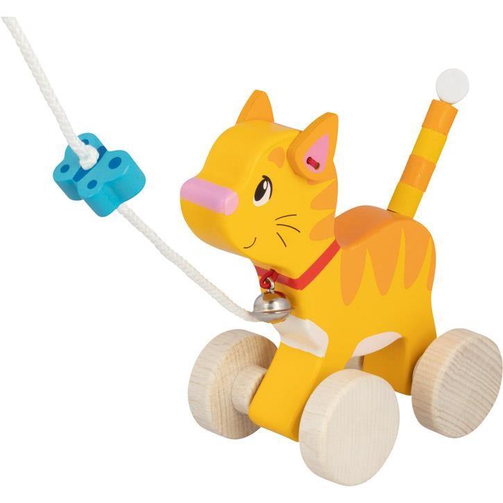 Goki Ziehtier Katze 54896 1+ Holz