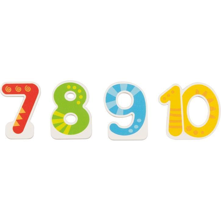 Goki Zusätzliche  Zahlen 7, 8, 9, 10 60713 0+ Holz