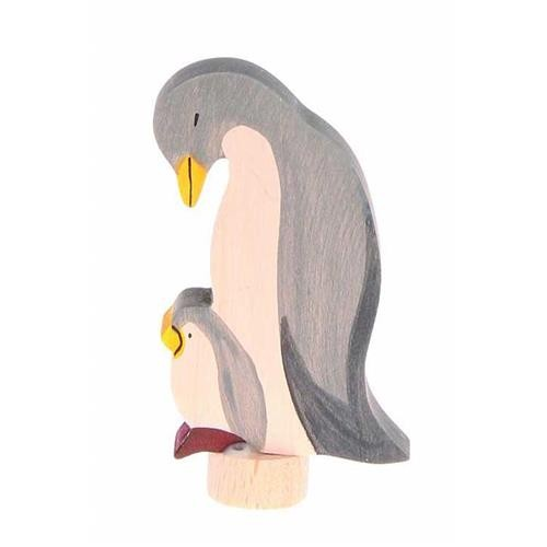 Grimms Stecker Pinguine, handbemalt